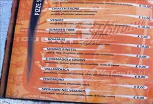 """Savona, nel menu c'è la pizza """"Speriamo nel Vesuvio"""": scoppia la polemica sul web"""