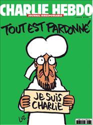 """Charlie Hebdo torna in edicola, in primo piano Maometto che piange: """"E' tutto perdonato"""""""