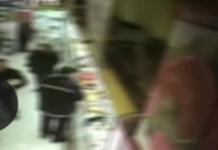 Vigile urbano ruba supermercato