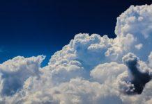Nuvole pioggia batteri