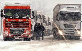 Nevicata autostrada
