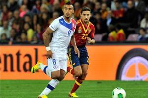 Brasile Mondiali 2014: Cile-Spagna 2-0, la caduta degli dei