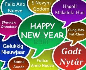Buon Anno 2015 Auguri Tutte Lingue Mondo