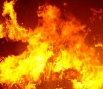 Incendio notte di natale