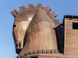 Cavallo di troia nave non cavallo