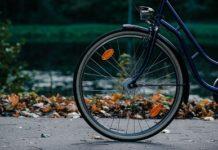 Bicicletta caduta
