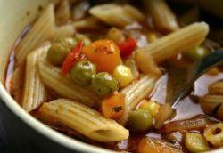 Ritiro minestrone verdure