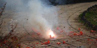 Napoli Capodanno bollettino di guerra feriti fuochi d'artificio