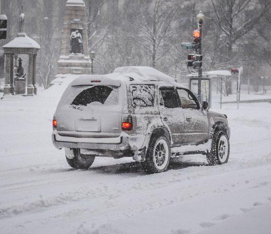 Meteo nevicata città a bassa quota