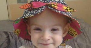 Isla Caton bambina 4 ani guarisce tumore