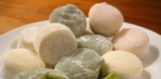 Mochi dolci giapponesi