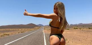 Beatrice Bouchard autostop Instagram
