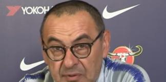 Maurizo Sarri tecnico Chelsea