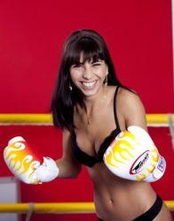 Donna lotta arti marziali
