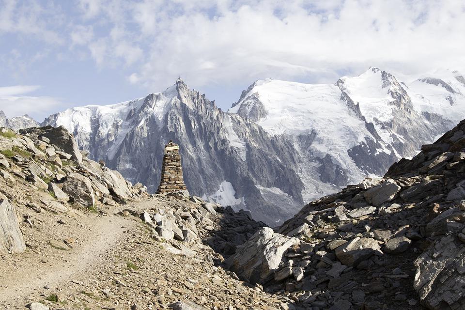Alpi ghiaccio insanguinato